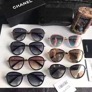香奈儿Chanel 18年开春最新款太阳镜,上脸效果非常棒,简单大方上档次!