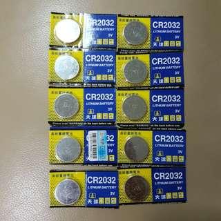 New CR2032 lithium battery. 3V.unopen. 1 for $2.50 or 2 for $4
