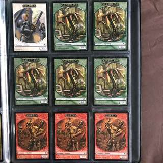 MTG Magic the Gathering Cards - (Tokens) Soldier; Saproling; Goblin
