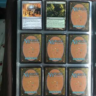 MTG Magic the Gathering Cards - Mind Stone; Treetop Village