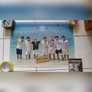 [POSTER CLEARANCE] BTS 2015 SUMMER PACKAGE POSTER