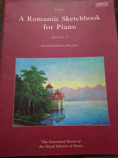 A Romantic Sketchbook for Piano ABRSM