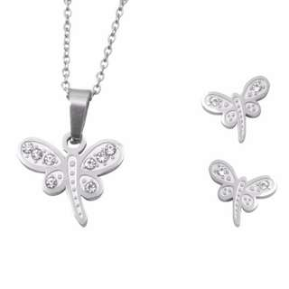 Silverworks Necklace and Earring Set 002
