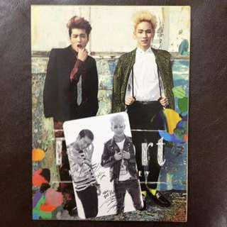 [WTS] TOHEART <INFINITE WOOHYUN AND SHINee KEY> FIRST MINI ALBUM