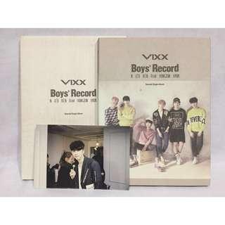 VIXX Boys' Record Album (Pre-loved)