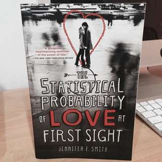 Statistical probability of love at first sight book