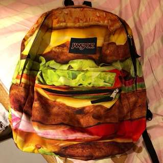 JANSPORT Hamburger schoolbag