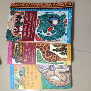 PRICED EACH Alexander McCall smith books