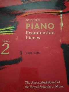 ABRSM Piano Exam Pieces Grade 2