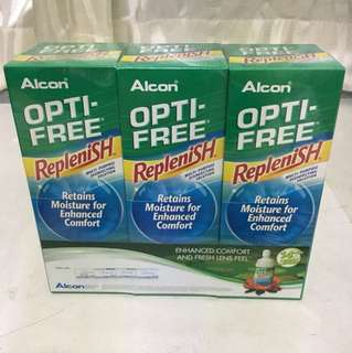 Optifree contact lens solution brand new