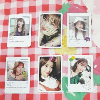 WTS Twice Official Photocards