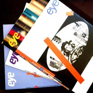 eye design UK magazine graphic design books / 二手 珍藏 絕版 平面 設計