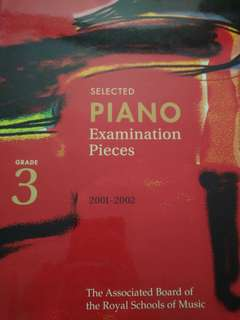 ABRSM Grade 3 Piano Exam Pieces