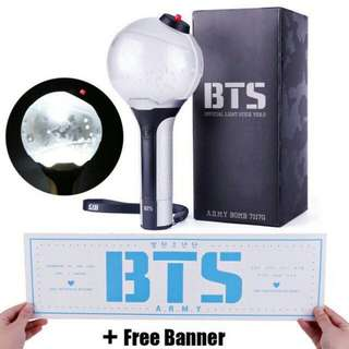 BTS OFFICIAL LIGHT STICK