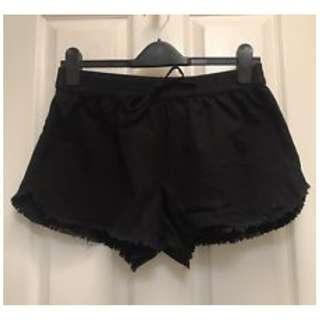 SEED HERITAGE Navy Raw Hem Shorts
