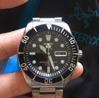 Seiko Automatic Watch Made In Japan 精工自動錶 限量版 Rolex款