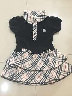 Preloved girl dress (1 year) 80cm