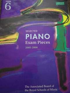 ABRSM Grade 6 Piano Exam Pieces