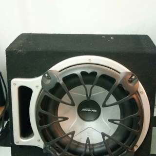Alpinee sub woofer [offer last price:rm100]