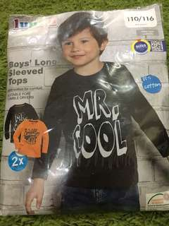 Boys long-sleeved tops (from Germany)