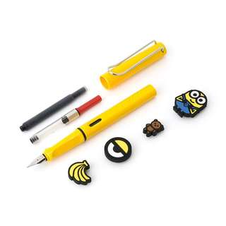 Limited Edition Lamy X Minions from Korea Line Store 韓國限量版
