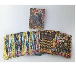 Set of 90 Future Card Buddyfight Cards