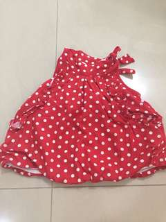 Free Preloved Baby girl dress