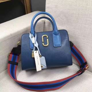 Marc Jacobs Satchel Blue colour Bag
