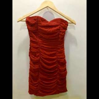 H&M Elegant Red Dress
