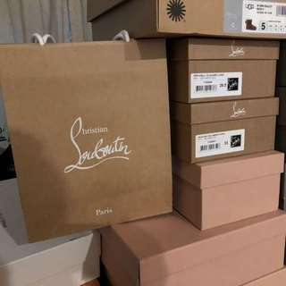 LOUBOUTIN 鞋盒紙袋 shoes box & paper bag