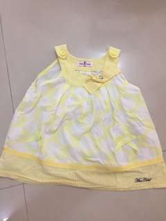 Free preloved Baby girl top (1-2 year)