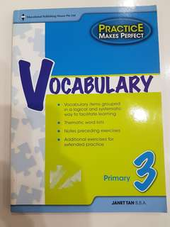 Primary 3 English book