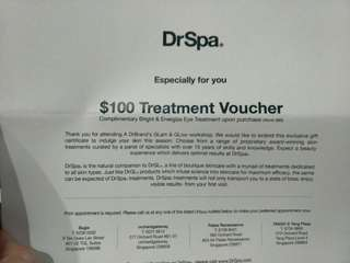 🌟DrGL $100 Treatment Voucher, complimentary eye treatment worth $80🌟
