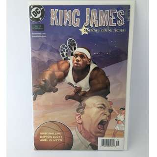 King James: Starring LeBron James - DC Comics