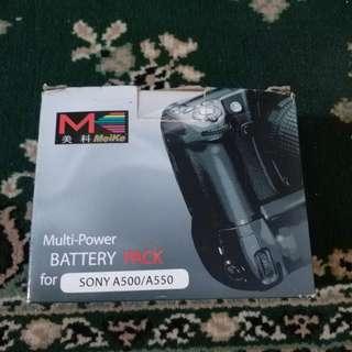 Sony battery pack (battgrip) for sony