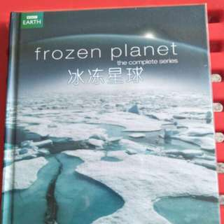 Frozen planet 3 discs DVD