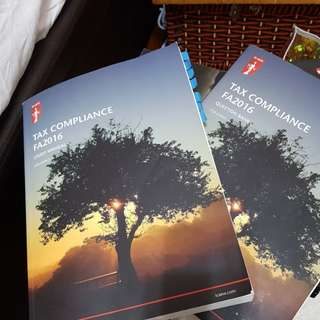 ICAEW TAX COMPLIANCE 2016 Textbook and question bank