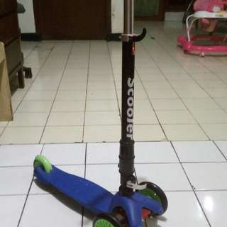 Scooter/otoped anak 3 roda mantap
