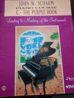 Piano Course C - The Purple Book