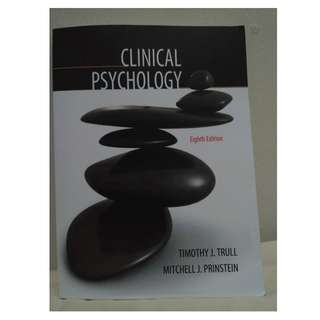 Buku Psikologi klinis