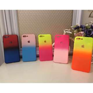 two color case for iphone 5/6/6+plus/7/7+plus/iphone x 10