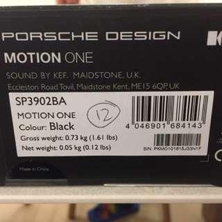 Porsche Design Motion One Earphone