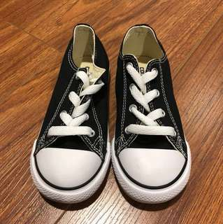 Black Kids Authentic Converse Shoe