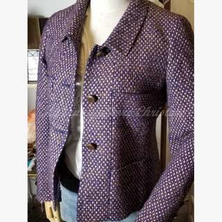 20%Off Chanel Tweed Structured Jacket