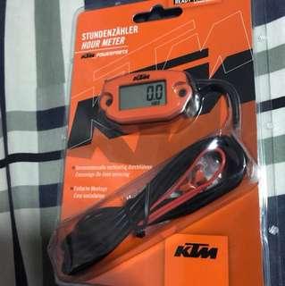 KTM hourmeter