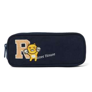 🇰🇷Kakao Friends Ryan Canvas Slim Pouch 萬用袋