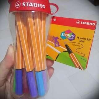 Stabilo Point 88 Mini Pens