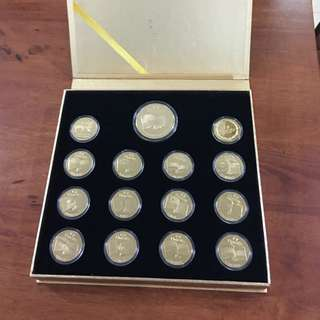 Unicity Gold Plated Multi-Countries Medal