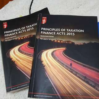 ICAEW PRINCIPLES OF TAX FOUNDATION PAPER 2015