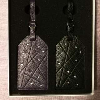 Swarovski luggage tag 行李牌